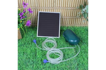 Day/Night Solar Oxygenator Air Pump