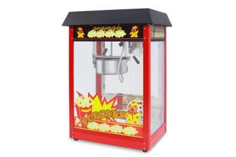 8Oz Popcorn Machine Maker with Warmer Deck 1350W