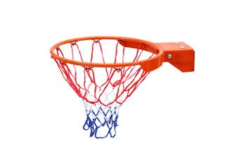 Standard 45cm Basketball Ring Hoop Solid Rim 18mm with Net