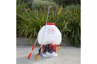 25L Petrol Knapsack Backpack Weed Sprayer Garden Chemical Spray Pest Control