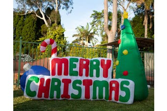 180cm Inflatable Merry Christmas Tree with Light