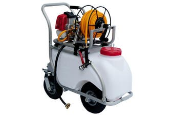 50L Sprayer Kit With Aluminium Trolley for Weed spray or Pest Control