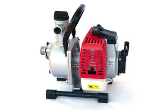 Hisen WP-10 1 Inch Portable Water Pump 1HP 2 Stroke Petrol Power
