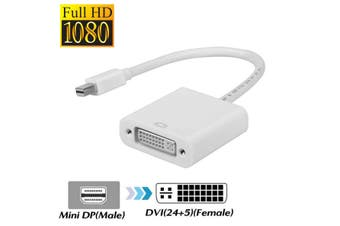 Mini Display Port to DVI Adapter Cable Cord Mini DP to DVI Mini Displayport to DVI For Macbook Pro Surface Pro 3 4
