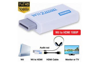 Wii to HDMI Adapter Converter 1080P