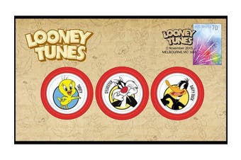 Looney Tunes Medallion Cover