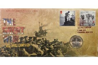 2015 The Great War Gallpoli Campaign PNC Ltd 2500