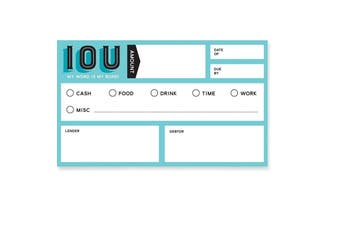 Fred IOU Carded (Set of 20) Social Currency Cards