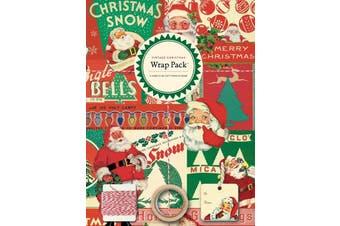 Cavallini Vintage Christmas Wrap Pack