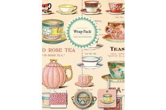 Cavallini Tea & Sweets Wrap Pack