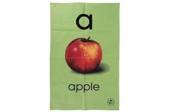 Ladybird Vintage Collection Alphabet ABC Tea Towel [A - Apple]