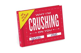 Knock Knock Why I'm Crushing on You - Fill in the Blanks Journal
