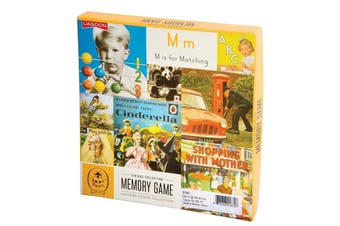 Lagoon Ladybird Vintage Collection Memory Game