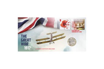 2017 The Great War 1917 PNC The War In The Air £2 Aviation Coin