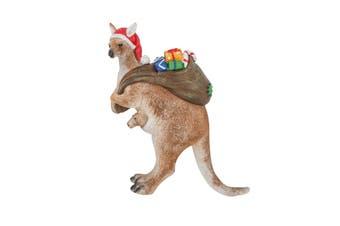 Australian Kangaroo on Christmas Presents Duty Figure 16cm