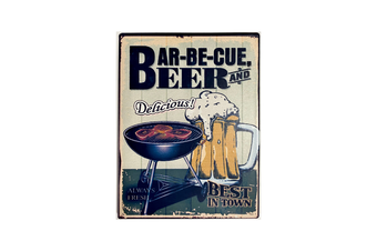 Aussie Tin Magnets in 7 Styles [BBQ & Beers]