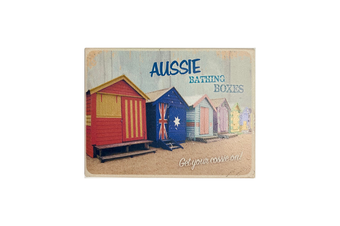 Aussie Tin Magnets in 7 Styles [Bathing Boxes]