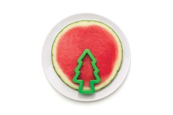 Monkey Business PEPO Christmas Tree Watermelon Slicer