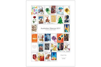 2017 Australian Stamps Multisheet Set Limited to 200
