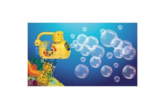 IS Gift Wind Up Bubble Submarine Hand Powered Bubbles