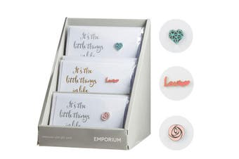 Emporium Love Brooch - It's the Little Things in Life