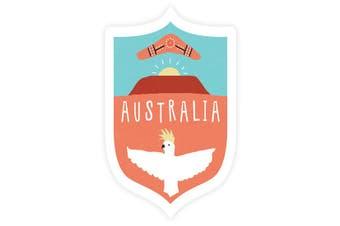 Sunday Paper Australia Cockatoo - Vinyl Bumper Sticker