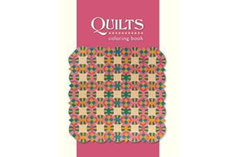 Pomegranate Quilts Colouring Book