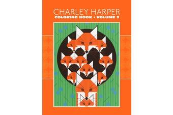 Pomegranate Charley Harper: Volume 2 Coloring Book