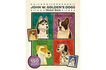 Pomegranate John W. Golden's Dogs Sticker Book
