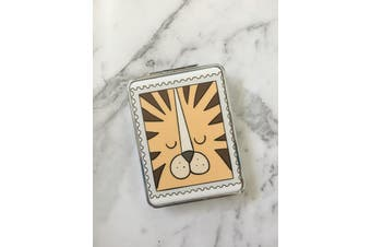 Double Sided Folding Pocket Compact Mirror [Style: Tiger]