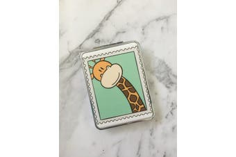 Double Sided Folding Pocket Compact Mirror [Style: Giraffe]