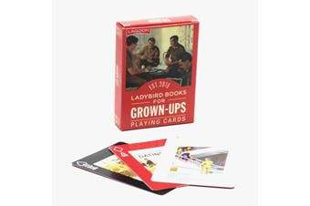 Lagoon Ladybird Books Playing Cards For Grown Ups