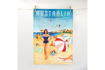 IS Gift The Australian Collection - Beach Tea Towel