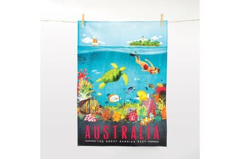 IS Gift The Australian Collection - Great Barrier Reef Tea Towel