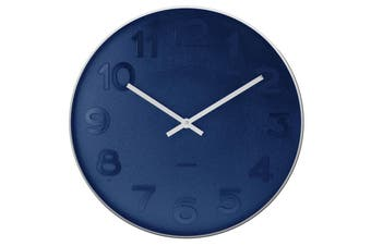 Karlsson Mr Blue Numbers Wall Clock Large 51cm