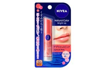 Kao Nivea Natural Color Bright Up Lip Balm SPF20 PA++ [Apricot Pink]