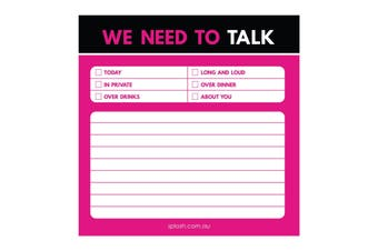 Need to Talk Sticky Note - Don't Hold Back Collection