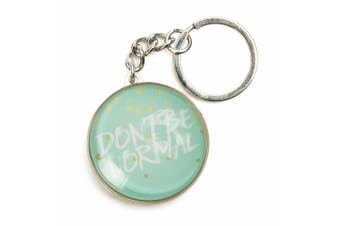 Inspiration Quotes Glass Domed Keyring Pastel Dreams Collection [Quote: Normal]