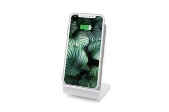 IS Gift Standing Wireless Charging Dock (White/Black)