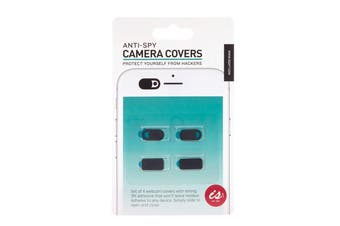 IS Gift Anti-Spy Camera Covers (Set of 4) for Laptop Phones Tablets