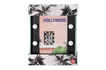 IS Gift Hollywood Lights Photo Frame Assorted Colours [Frame Colour: Black]