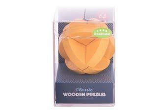 IS Gift Classic Wooden Puzzles [Colour & Difficulty Level: Yellow & Unbelievable]