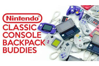 Nintendo Console Backpack Buddies Blind Bag