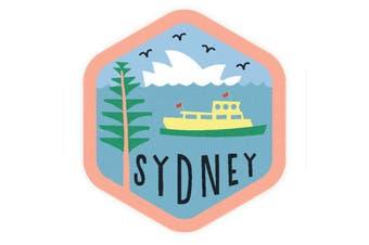 Sunday Paper Sydney - Vinyl Bumper Sticker