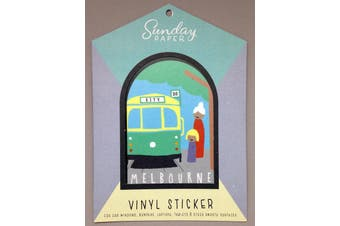 Sunday Paper Melbourne - Vinyl Bumper Sticker
