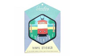 Sunday Paper Adelaide - Vinyl Bumper Sticker