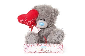 """Me To You Tatty Teddy One 7"""" I Love Heart Balloon Personalisable Bear"""