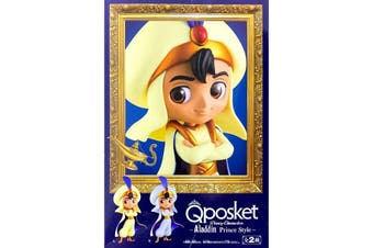 Banpresto Q Posket Disney Aladdin Prince Normal Colour Version