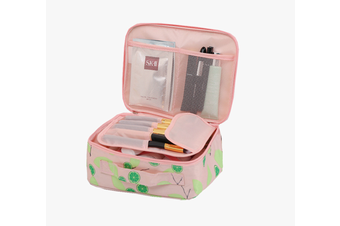 Pack-in-Style Multifunctional Cosmetics Travel Organiser [Pattern: Pink Yuzu]