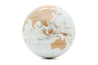 Luckies Revolving Globe of the World
